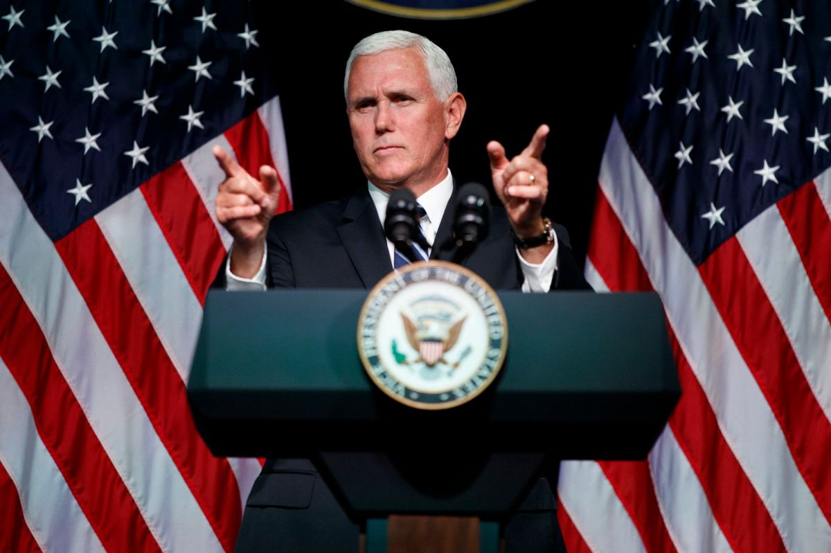 Space Force Is Go... VP Mike Pence Is Our Captain Now
